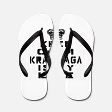 Krav Maga Is My Life Flip Flops
