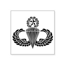 "Cute 82nd airborne division Square Sticker 3"" x 3"""