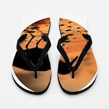 Sandpiper Silhouette Flip Flops