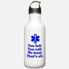 Unique Paramedic ems Water Bottle