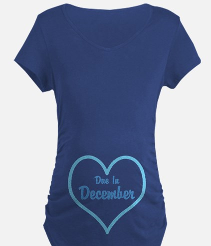Due In Personalized Maternity T-Shirt