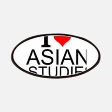 I Love Asian Studies Patch