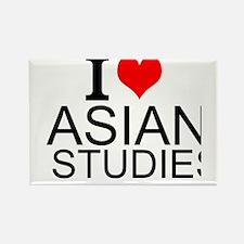 I Love Asian Studies Magnets
