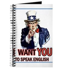 Uncle Sam ~ I Want You... Journal