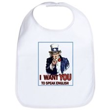 Uncle Sam ~ I Want You... Bib