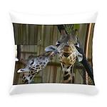 Giraffe Baby Mama Kiss Everyday Pillow