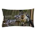 Giraffe Baby Mama Kiss Pillow Case