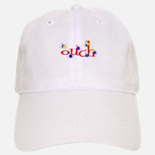 ouch red yellow blue paintball Baseball Baseball Cap