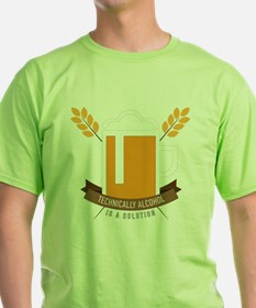 Cute Alcohol is a solution T-Shirt