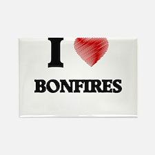 I Love BONFIRES Magnets