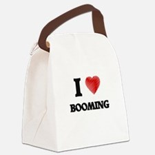 I Love BOOMING Canvas Lunch Bag