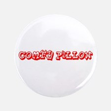 Funny Comfy Pillow Georgina's Fave Button