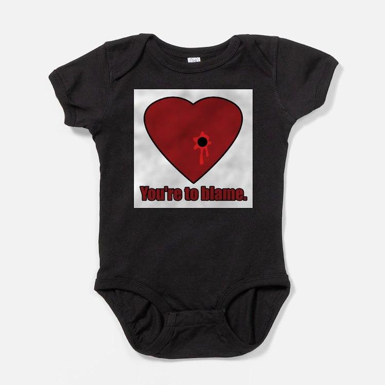Cute Anti valentine%2527s day avdc2007 avdc2007 Baby Bodysuit