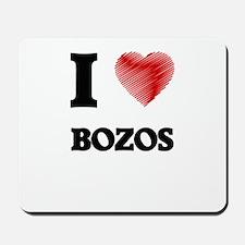 I Love BOZOS Mousepad
