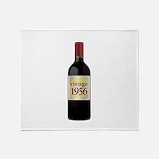 Vintage 1956 60th Throw Blanket