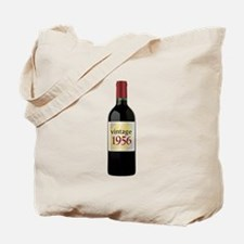 Vintage 1956 60th Tote Bag