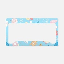 Cute Sea Life License Plate Holder