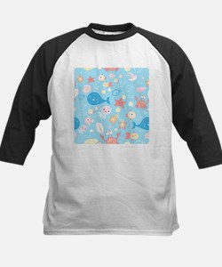 Cute Sea Life Baseball Jersey