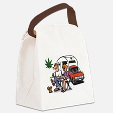 The Good Life Canvas Lunch Bag