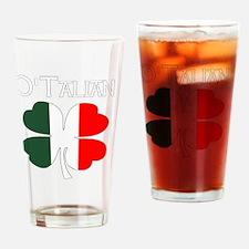 Unique Italian and irish Drinking Glass