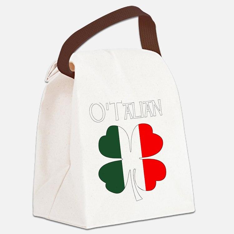 Cute Irish italian Canvas Lunch Bag