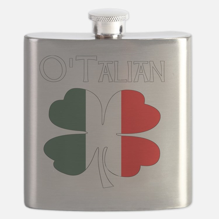 Cute Irish italian Flask