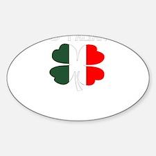 O'Talian 4 Leaf Clover Italian Flag - Iris Decal