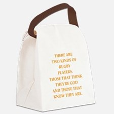 rugby Canvas Lunch Bag