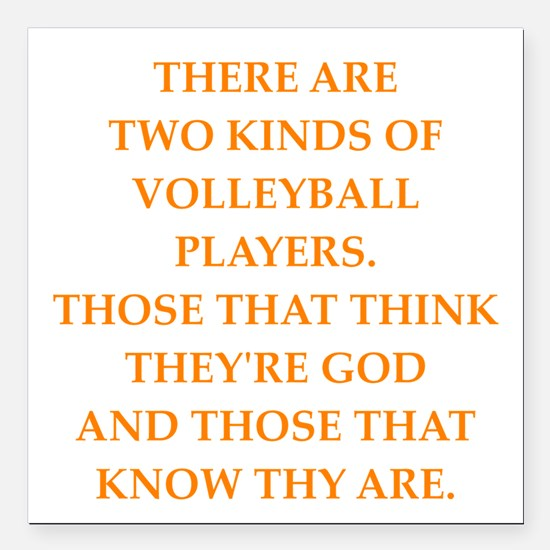 Funny Varsity Volleyball Car Magnets Personalized Funny Varsity