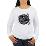 Poe Vignette 8 Women's Long Sleeve T-Shirt