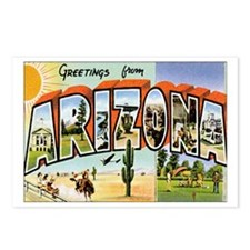 Arizona Postcard Postcards (Package of 8)
