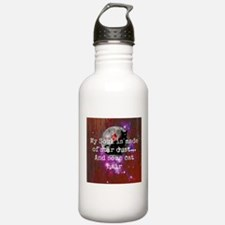 galaxy cat soul Water Bottle