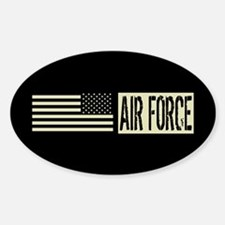 U.S. Air Force: Air Force (Black Fl Decal