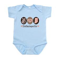 Peace Love Indianapolis Infant Bodysuit