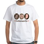Peace Love Indianapolis White T-Shirt