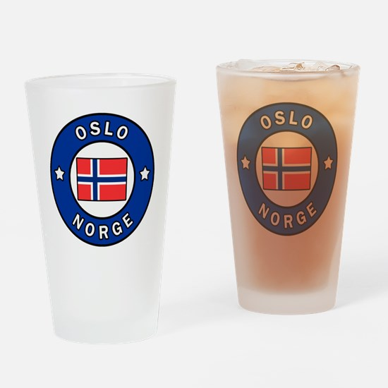 Unique Norge Drinking Glass