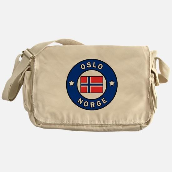 Oslo Norge Messenger Bag