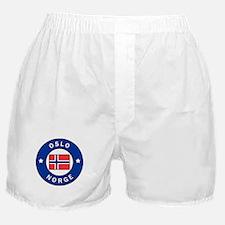 Oslo Norge Boxer Shorts