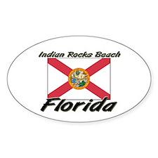 Indian Rocks Beach Florida Oval Decal