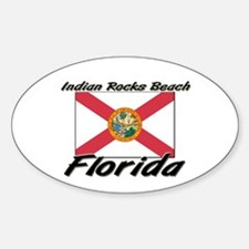 Indian Rocks Beach Florida Oval Decal