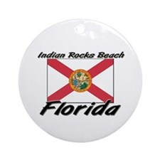 Indian Rocks Beach Florida Ornament (Round)