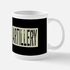 U.S. Military: Artillery (Black Flag) Mug