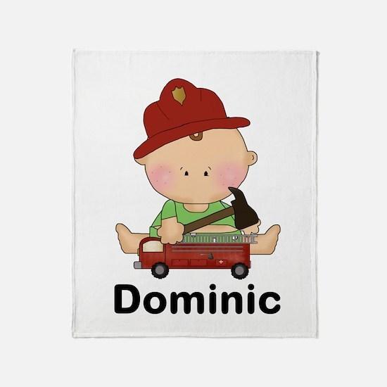 Dominic's Throw Blanket