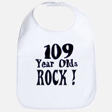 109 Year Olds Rock ! Bib