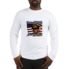 Generally Awesome (MacArthur) Long Sleeve T-Shirt