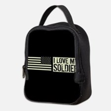 U.S. Army: I Love My Soldier (B Neoprene Lunch Bag