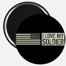"""U.S. Army: I Love My Soldie 2.25"""" Magnet (10 pack)"""