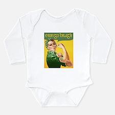 Cool St patricks day Long Sleeve Infant Bodysuit