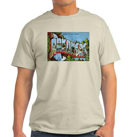 Arkansas Postcard Light T-Shirt