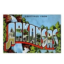 Arkansas Postcard Postcards (Package of 8)